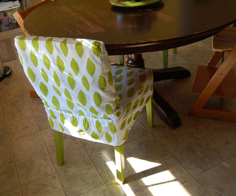 Painted Slipcover