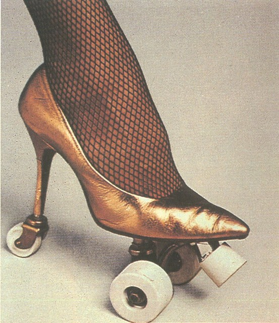 philip garner high heel roller skate flickr photo