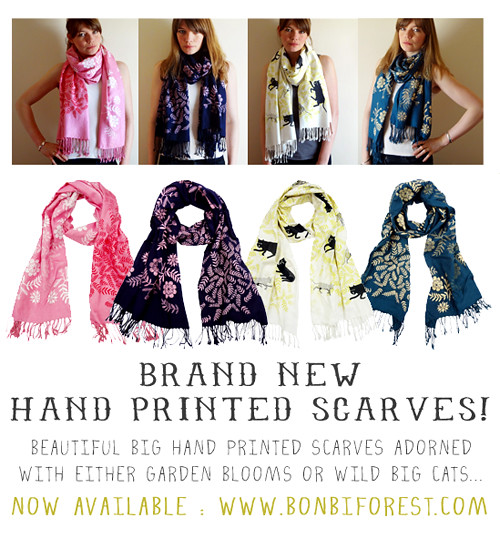 New Scarves!
