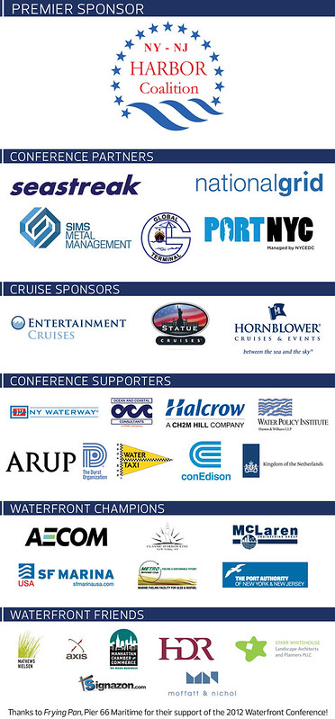 Thanks to the sponsors who make this conference possible