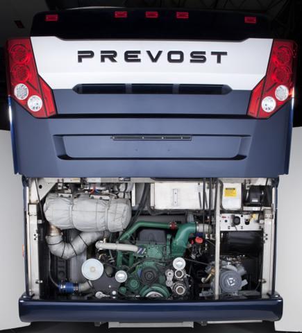 Prevost H3 45 Coach Engine Flickr Photo Sharing