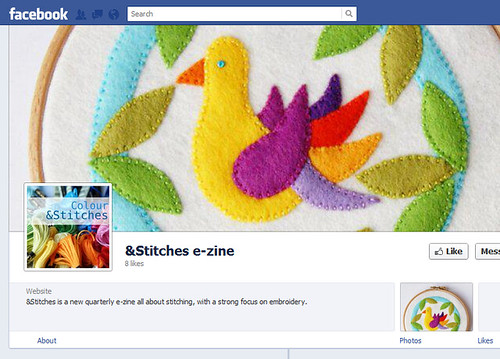 &Stitches zine now on Facebook