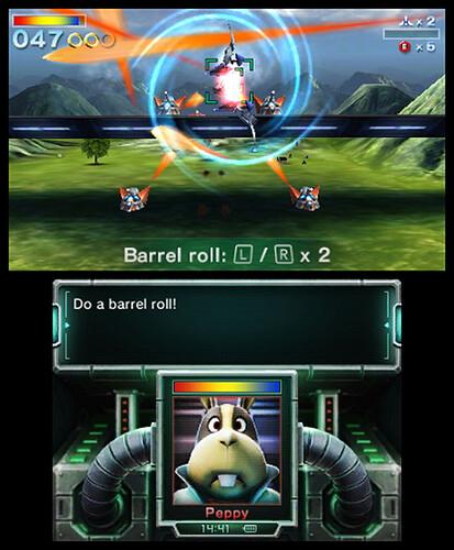 Starfox 64 3D - Barrel Roll