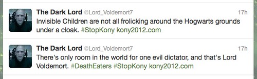 voldemort protests kony