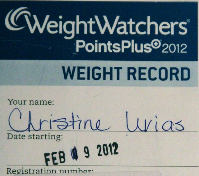 Weight Watchers record