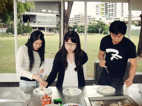 Outdoor Korean BBQ at Southbank