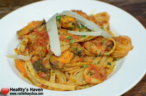 Relik Seafood Pasta