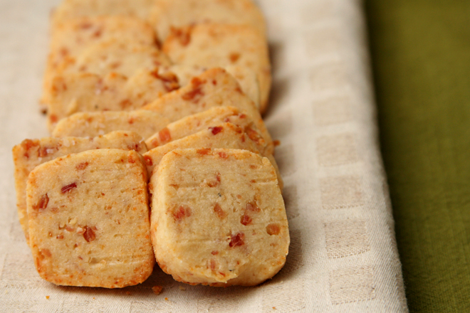bacon parmesan crackers 3