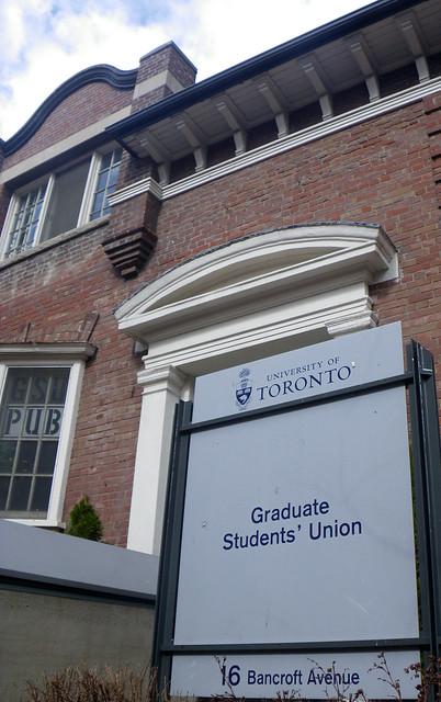 graduate students' union building