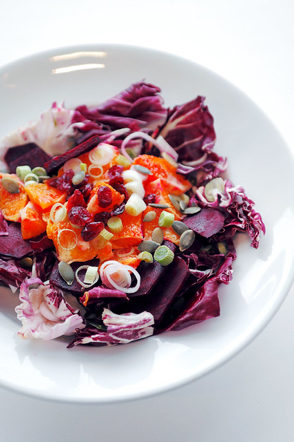 Radicchio, Blood Orange and Beetroot