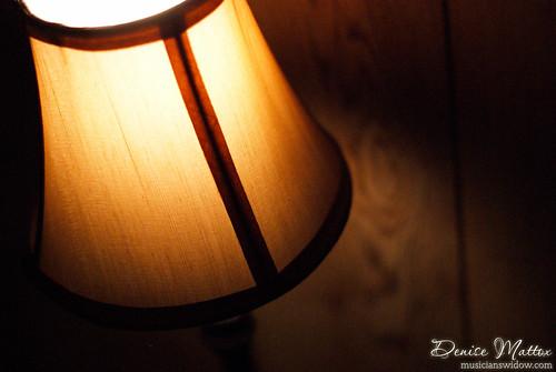 Lamp's glow