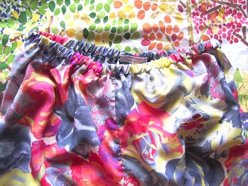 acid floral pettipants waist