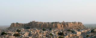 Image of Jaisalmer Fort. india sandstone fort sonar jaisalmer rajasthan historicindia rawal jaisalmerfort satyajitray jaisal sonalquila