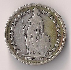 Coin - Switzerland - Half Franc - 1906 02