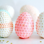 More sequin eggs