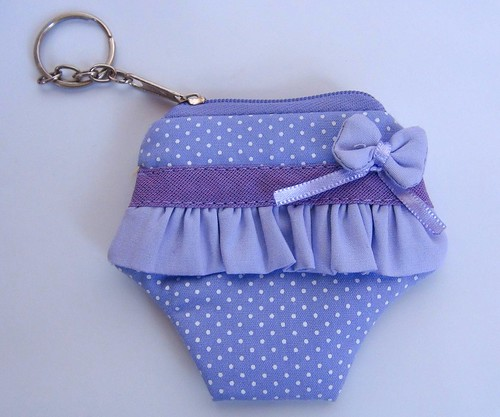 Chaveiro Calcinha by Cute for Baby by Mirian Rezende