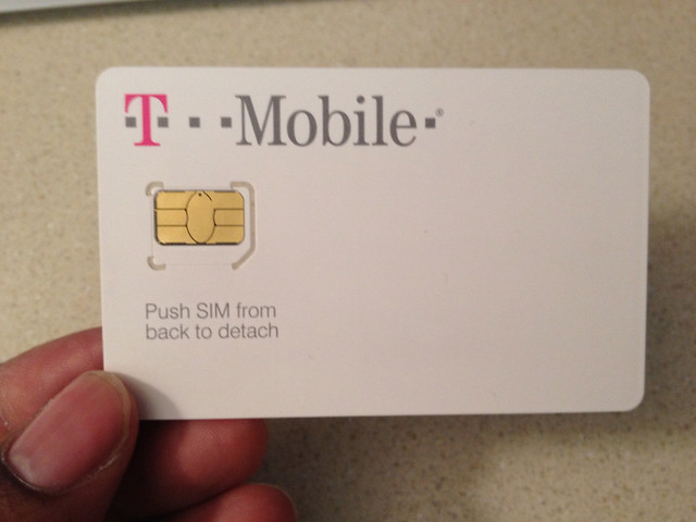 T Mobile Micro Sim Card Flickr Photo Sharing