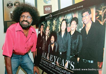 Konsert Alleycats Istimewa Buat Singapura