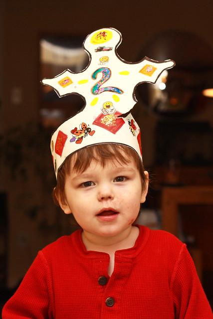Le roi a 2 ans