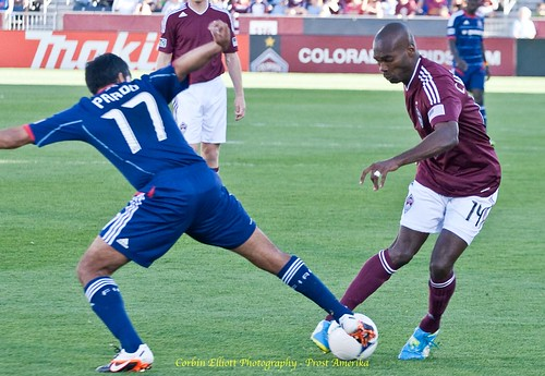 Omar Cummings Colorado Rapids 1 Apr 2012 by Corbin Elliott Photography