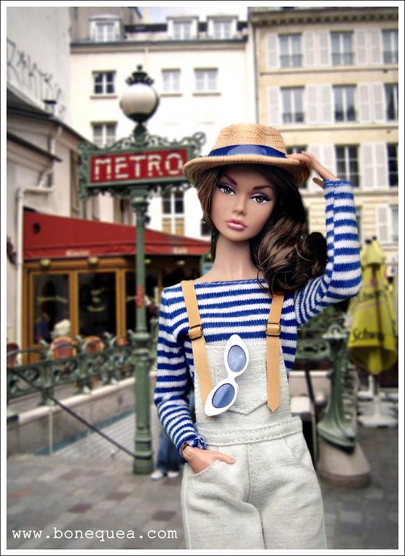 Poppy Parker en París...