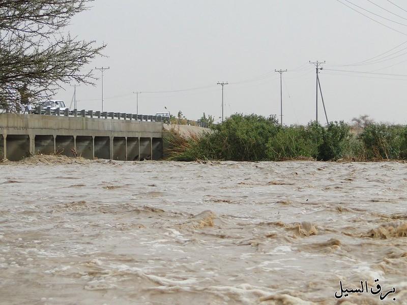 امطار وسيول شمال الطائف مابين السيل الكبير وشرق الحوية ...