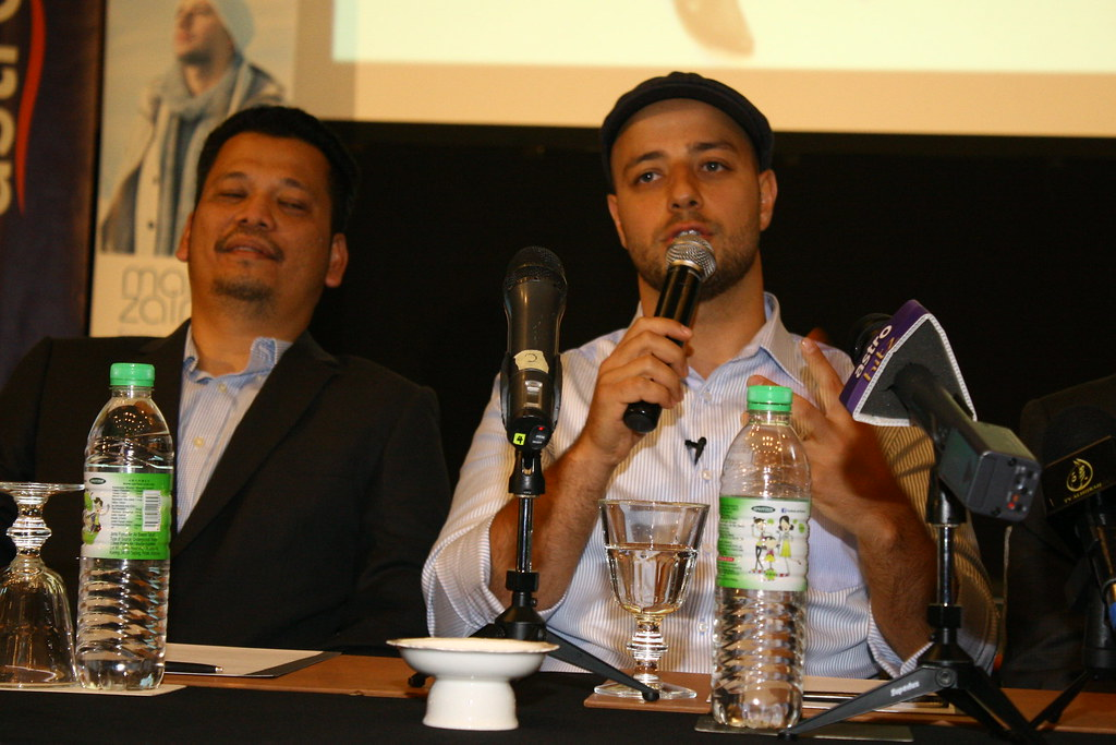 Maher Zain Press Conference For 2nd Album