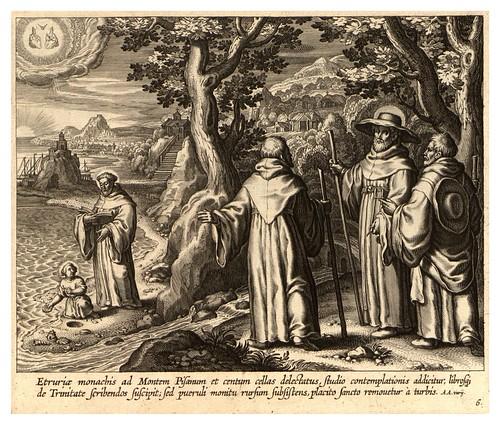 005-Iconographia magni patris Aurelli Augustini…1624-Grabados de Boetius Bolswert- Cortesia de Villanova University