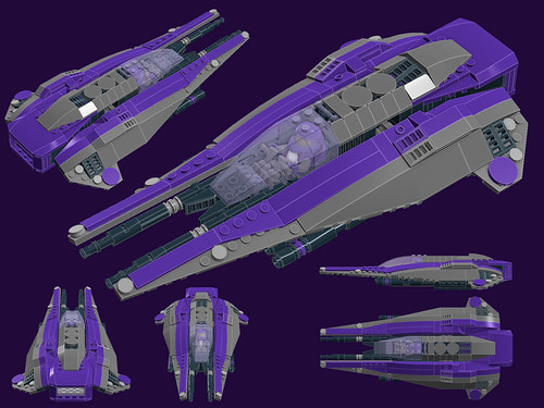 """Raijin"" Class Mk.II Light Interceptor by vynsane"