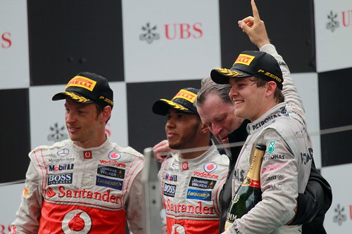 Nico Rosberg vence GP da China 2012