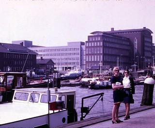 Netherlands   -  Rotterdam  -    Barbara & Denise Dotsey  -  May 1970