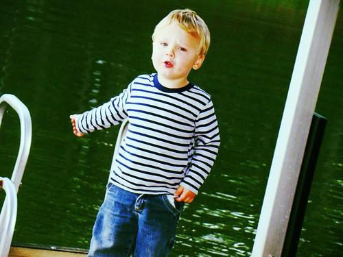 David @ the lake