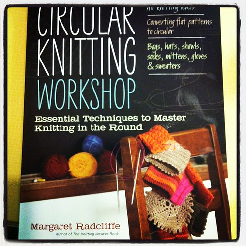 I'm kinda excited as this arrived in my letterbox yesterday! Circular knitting ago! #knitgeek