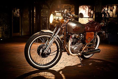 1973 Honda CB250 Isabel