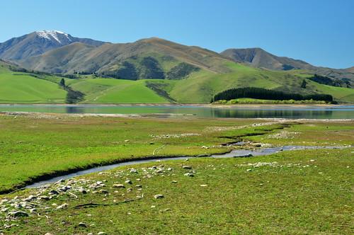 newzealand landscape fairlie lakeopuha nikond5000