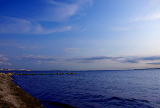 Image of Sandy beach. skåne sweden schweden sverige suede sundet helsingborg øresund sund öresund scanie