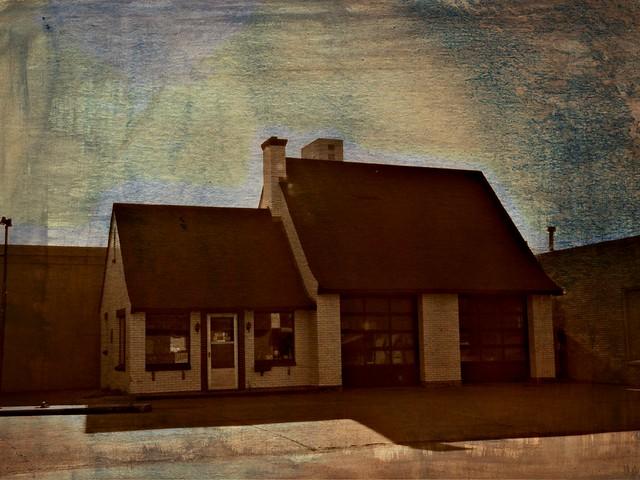 Stylish Vintage Service Station Flickr Photo Sharing