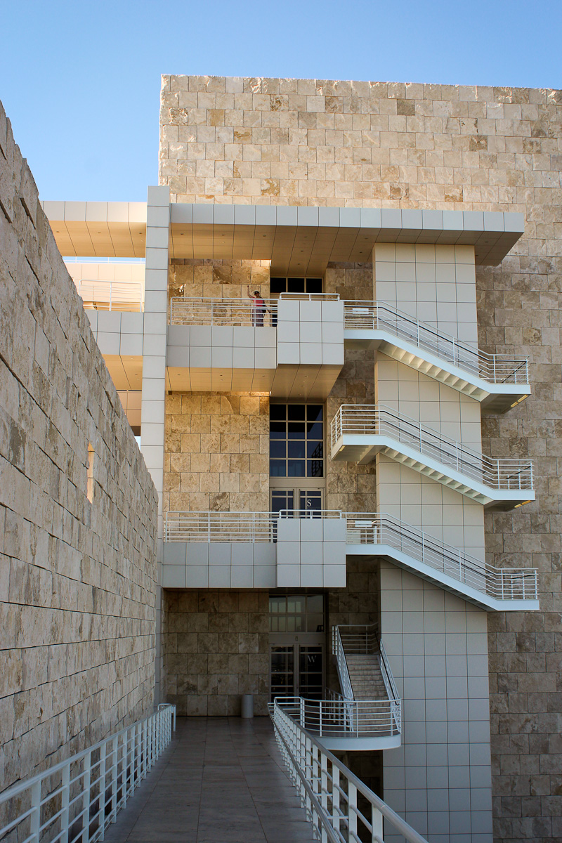 The Getty Center museum, Los Angeles by Morning by Foley
