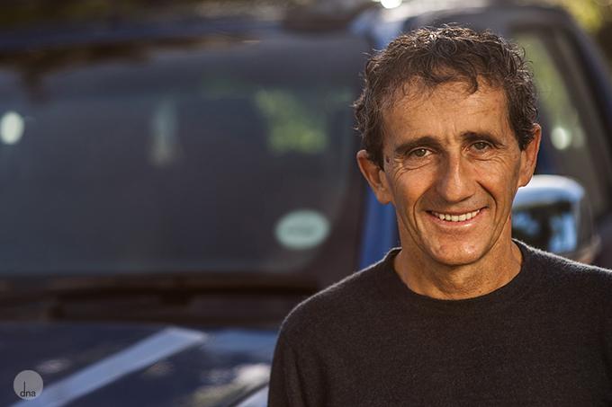 Nissan Alain Prost Desmond Louw 10