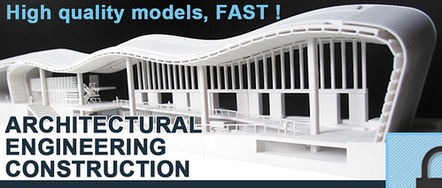 3D Printed Architectural Engineering & Construction Models