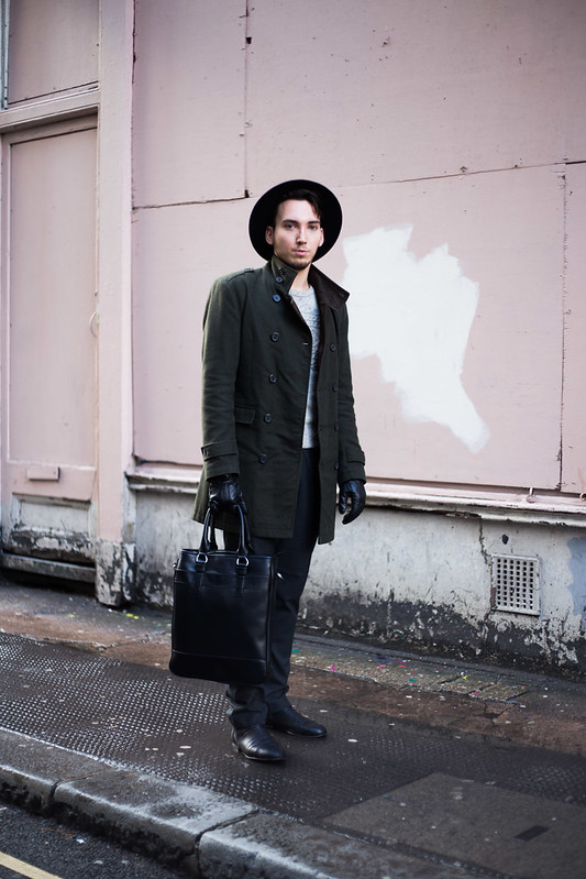 Street Style - Silviu Doroftei, London Collections: Men