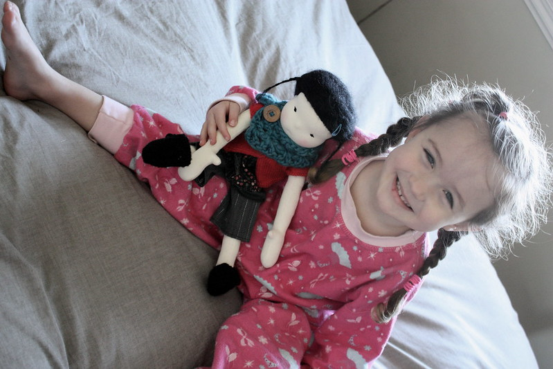 """Millicent a 16"""" Waldorf style doll"""