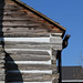 Overhanging Plate, Galloway Log House — Xenia, Ohio