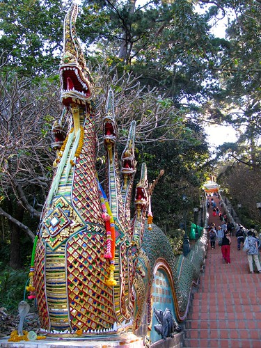 Acceso al Wat Phra That Doi Suthep