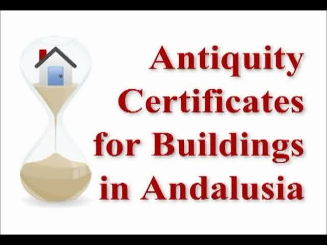 Certificates of Antiquity
