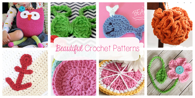 Free Beautiful Crochet Patterns by Daisy Cottage Designs