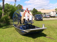 vehicle, airboat,