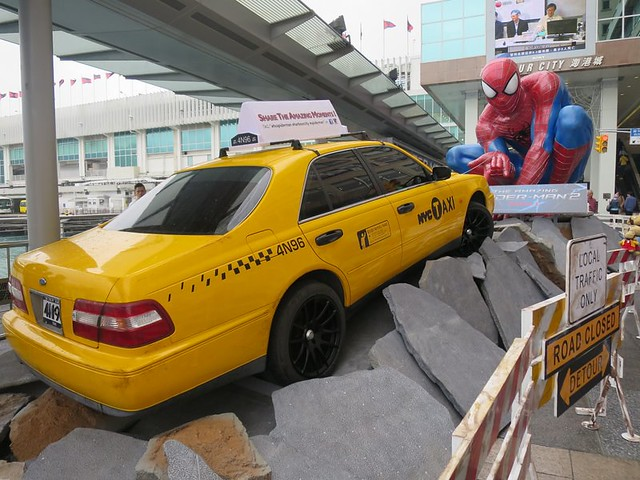 Spiderman Hong Kong