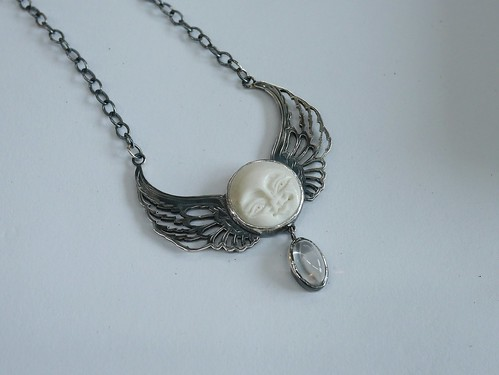 Space Lady Pendant - 2