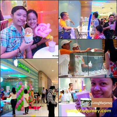 Now Swirling: Pinkberry in SM Mega Fashion Hall
